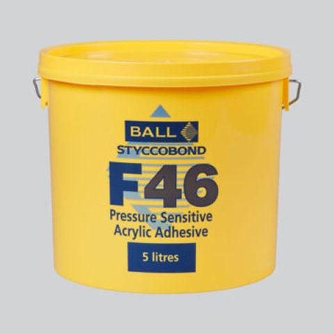 Styccobond F46 Pressure Sensitive Acrylic Adhesive – 15 Litres